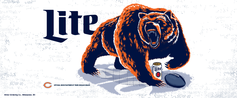 big sale 16688 50e6e Bears Wallpaper | Miller Lite