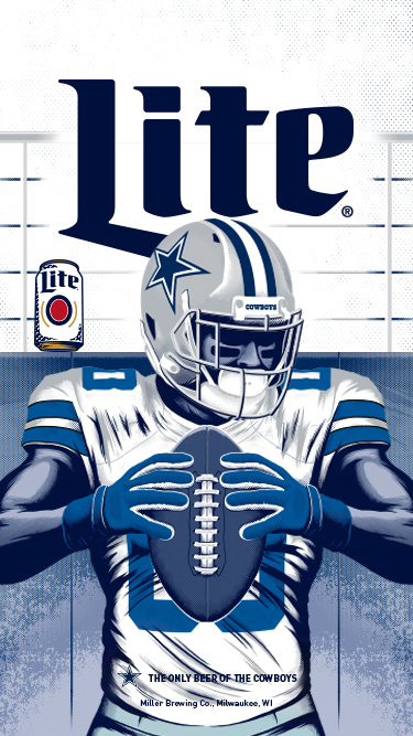 Brewed for True Cowboys Fans