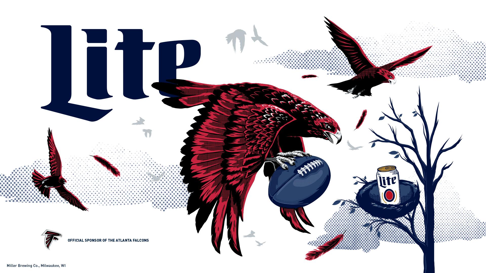 ... Atlanta Falcons wallpaper or poster. MOBILE DESKTOP PRINT*