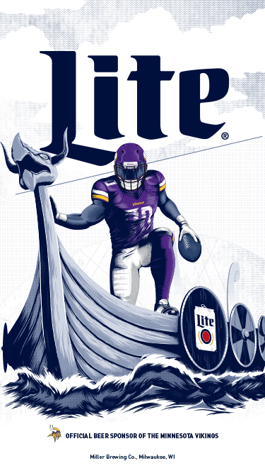 Brewed for True Vikings Fans